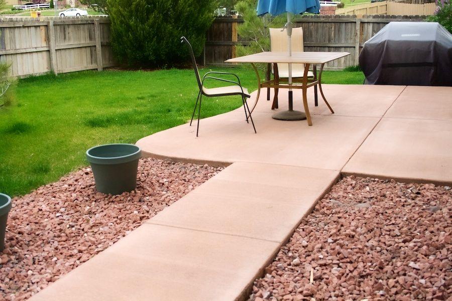 Attirant Image Result For Colored Concrete Patio