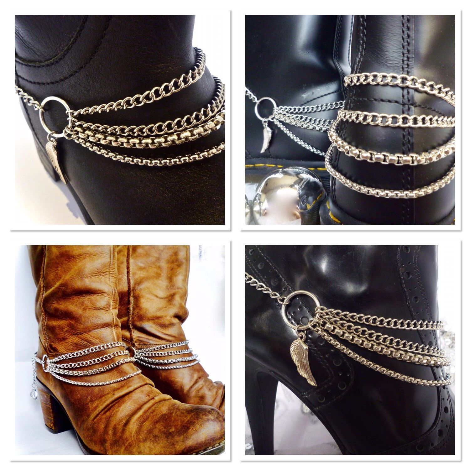 Best Selling Wings Of Desire Boot Chains Could This Be