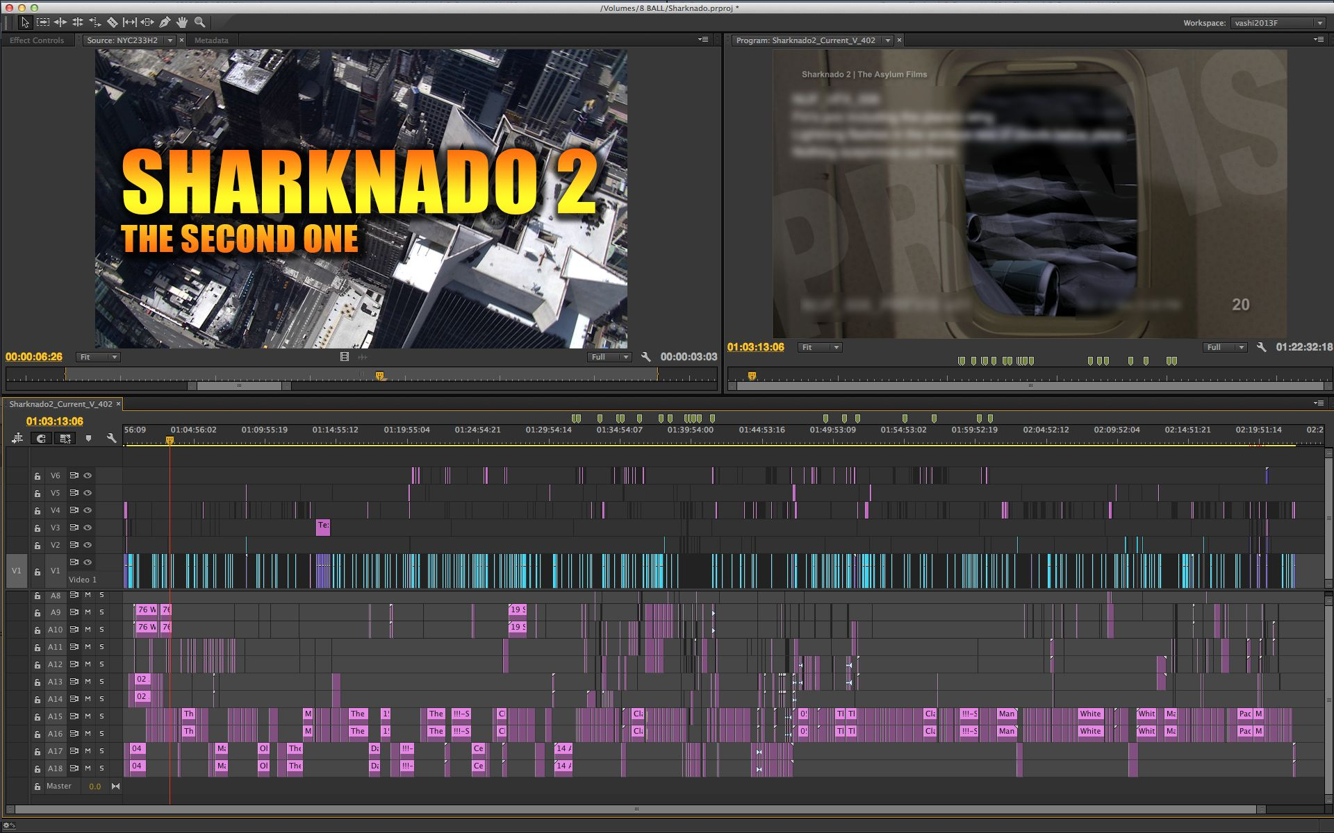 SHARKNADO 2 Sneak Peek at the First Edit Blog