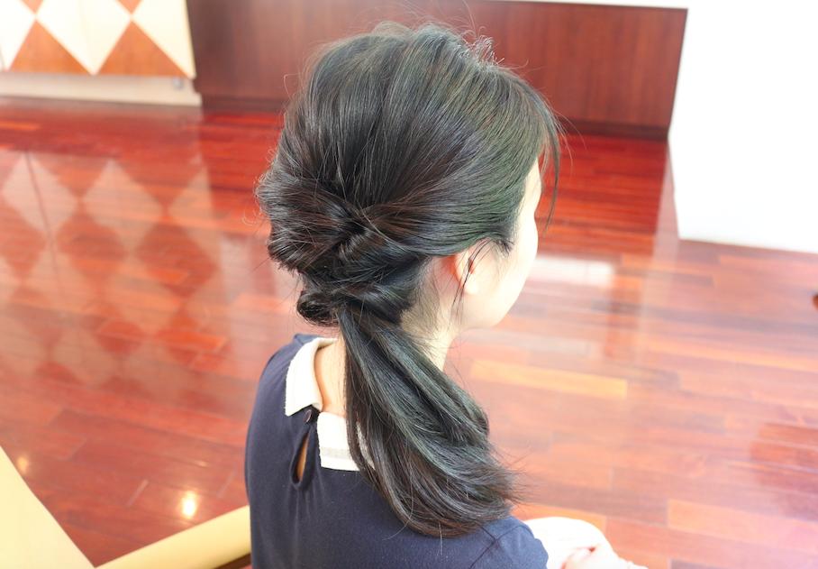まとめ髪の基本をおさらい 今すぐできる簡単アレンジまとめ ヘア