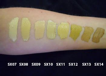 Wayne Goss Shares his swatches of Kevyn Aucoin Sensual Skin