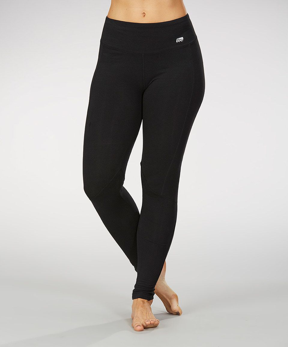 3436b4048627d Loving this Marika Black Ultimate Slimming Leggings on #zulily! #zulilyfinds