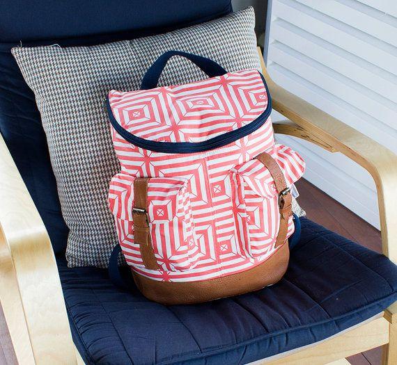 865 Donna Backpack PDF Pattern | Rucksäcke und Nähen