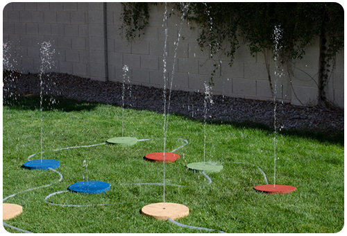 Merveilleux Own Splash Pads For Your Backyard!