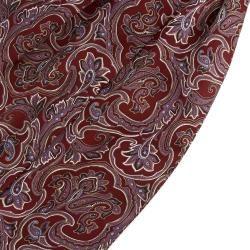 Barock Seiden Krawattenschal In Rot & LavendelTrendhim.de #hochzeitskleiderhäkeln