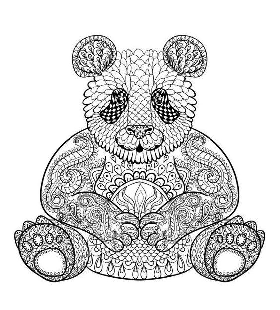 Mandalas De Animales Para Imprimir Y Colorear Dibujos