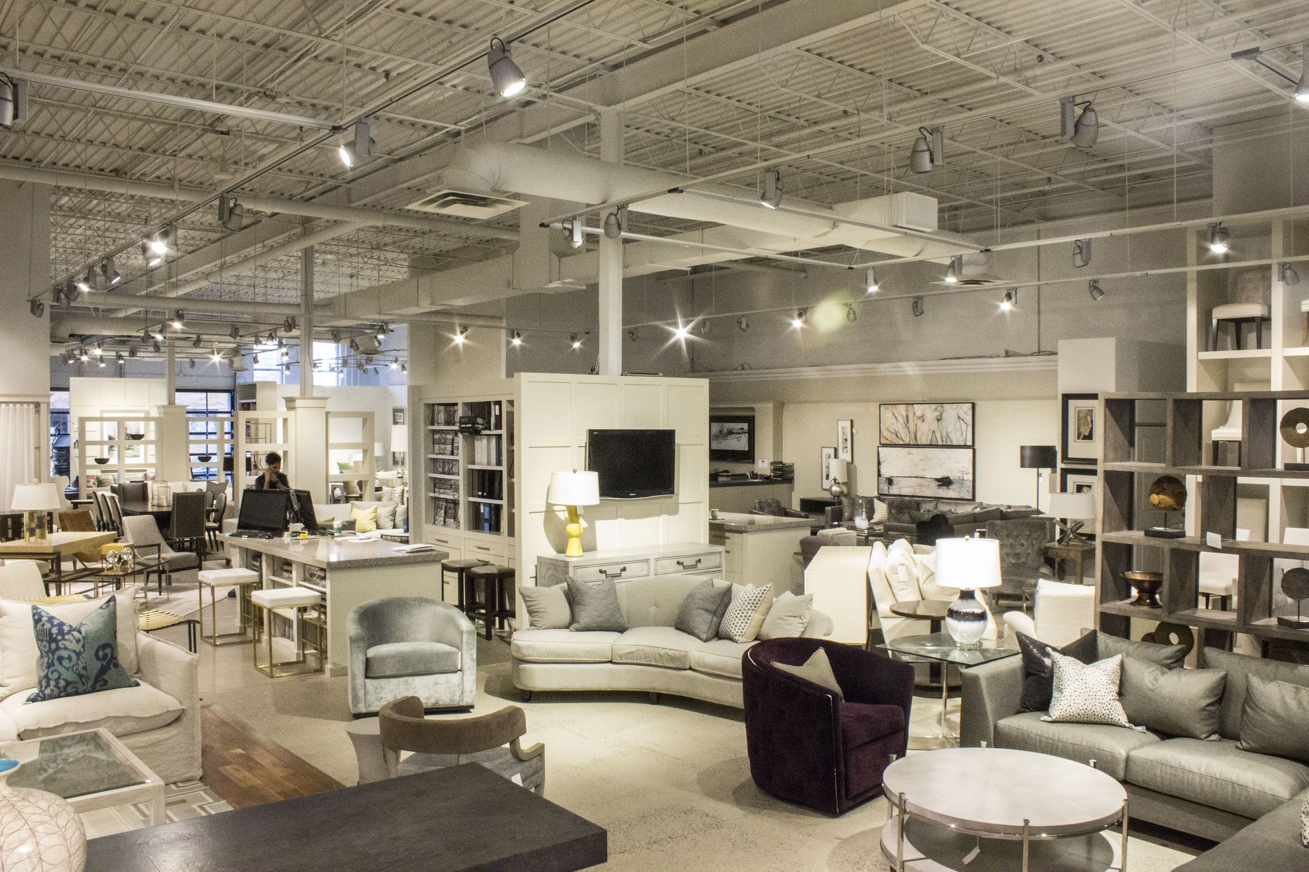 The Avenue Design Canada Showroom In Montreal Qc High End Furniture