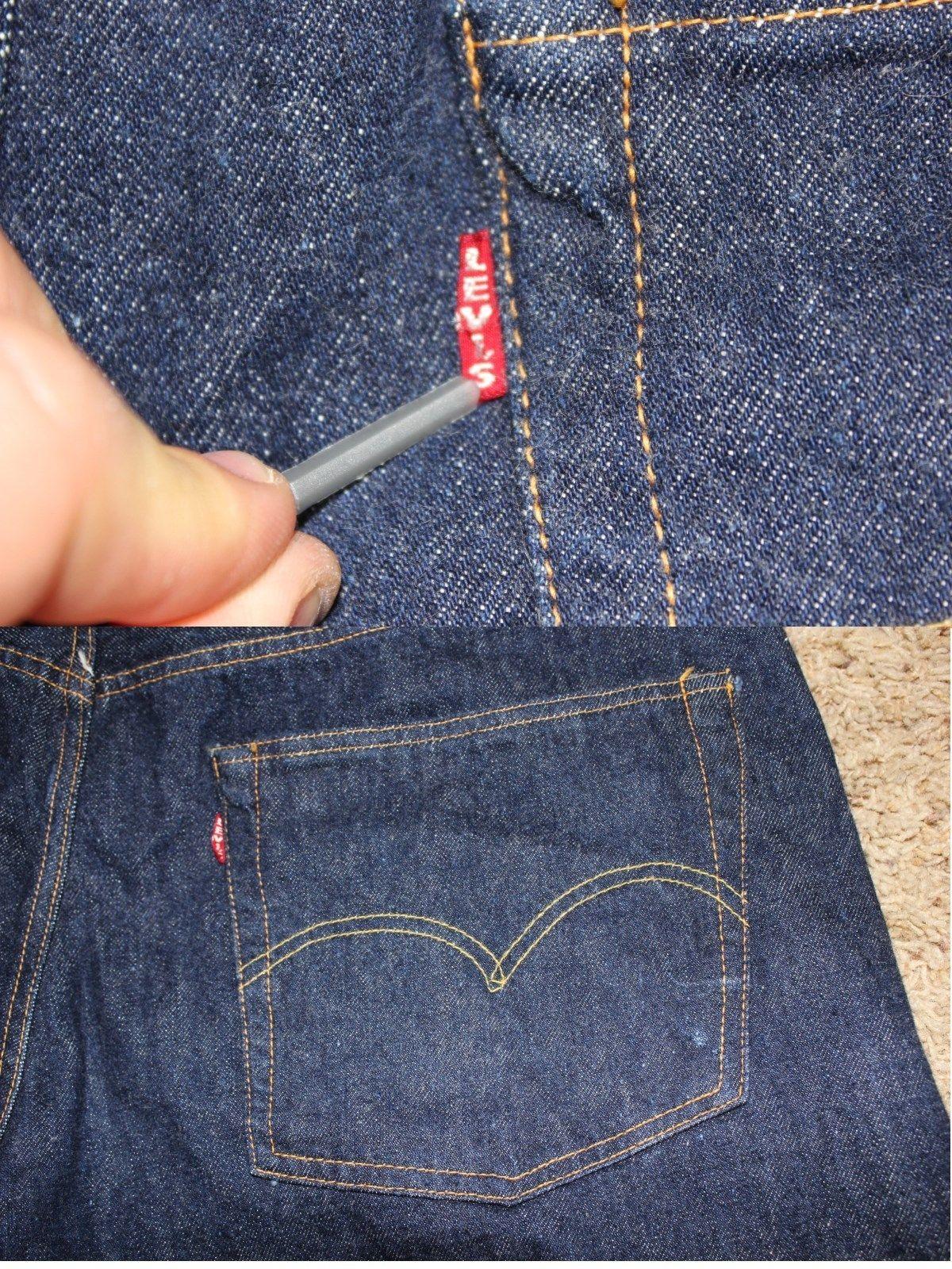 dc1def76 Vintage Levi's Jeans (Men's Pre-owned Levis Redline Selvedge Big
