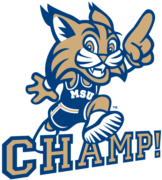 Montana State Bobcats Mascot Logo 0 Montana