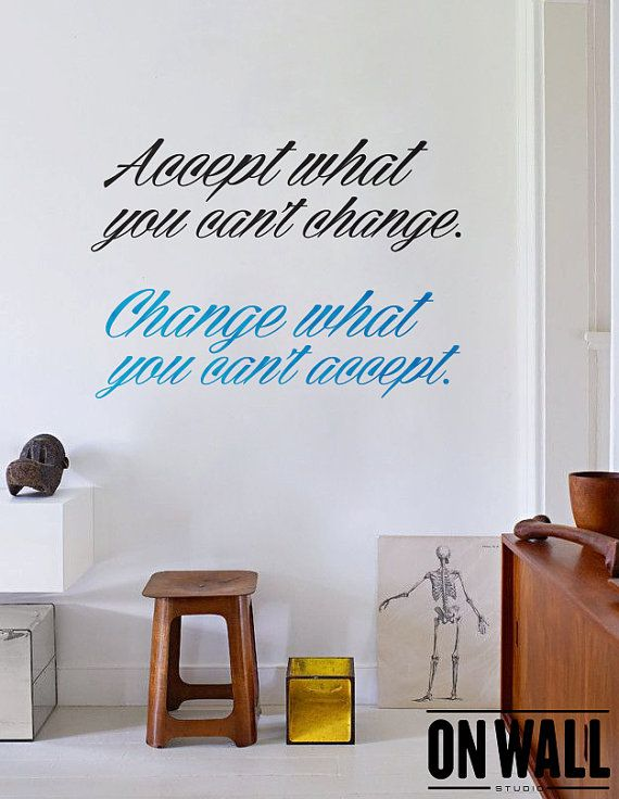 Quote Wall Decal   Lettering Home Office Wall Decor   Q004