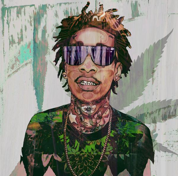 Cultural Trip By Mago Dovjenko Via Behance The Wiz Wiz Khalifa Wiz Khalifa Roll Up