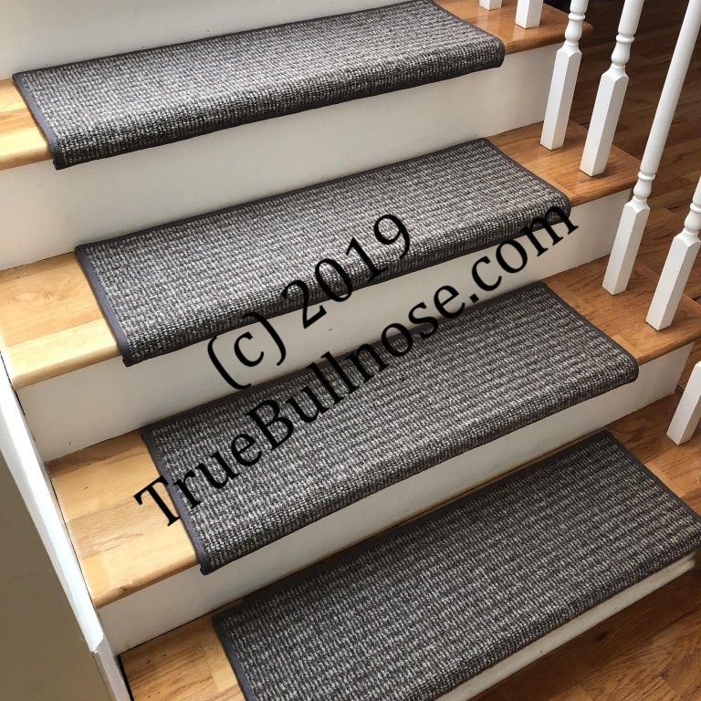 Best Rustic Charm Carbon Heather 100 Wool True Bullnose 400 x 300
