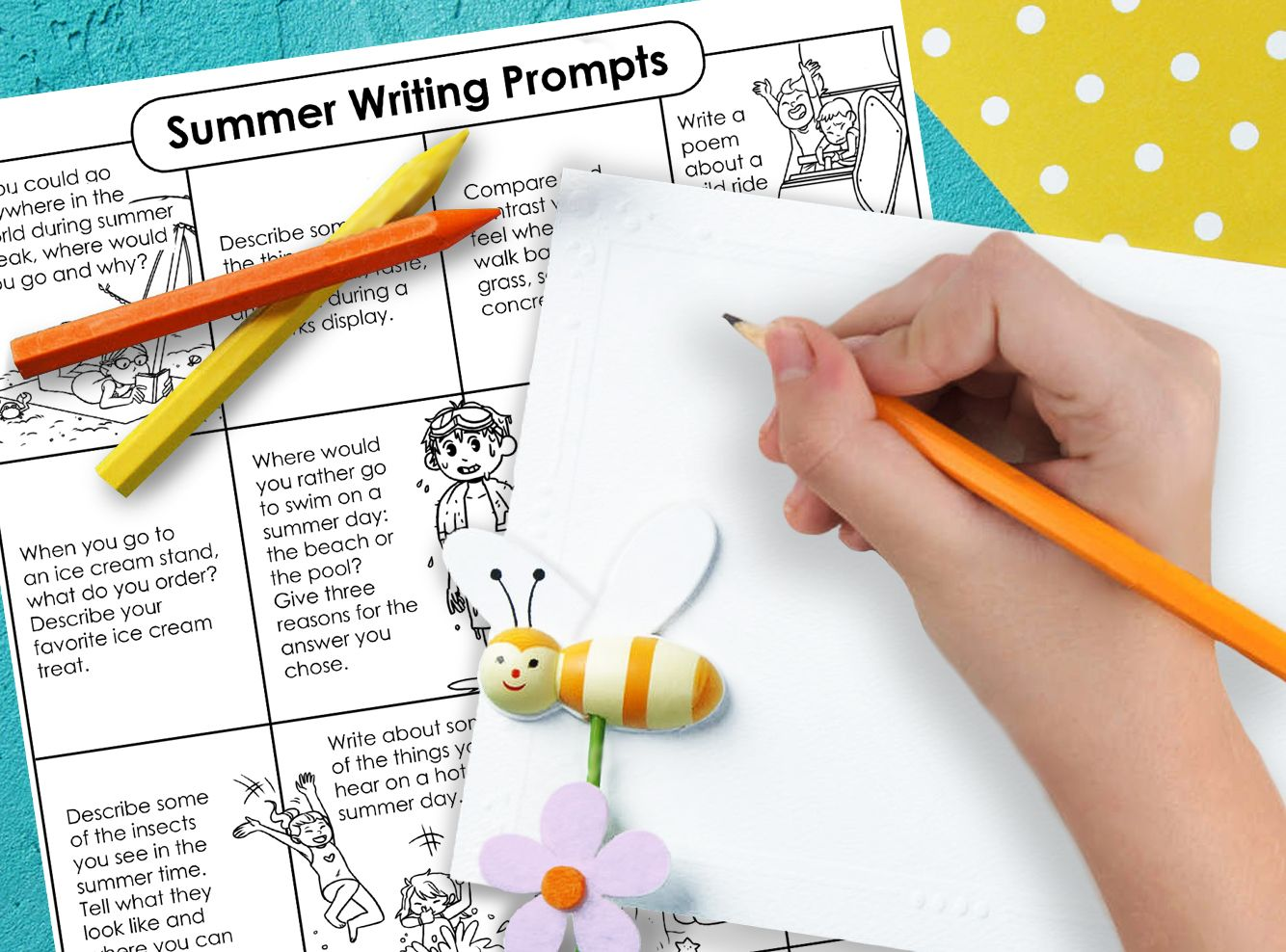 Hooray For Summer Give These Summer Creativewriting