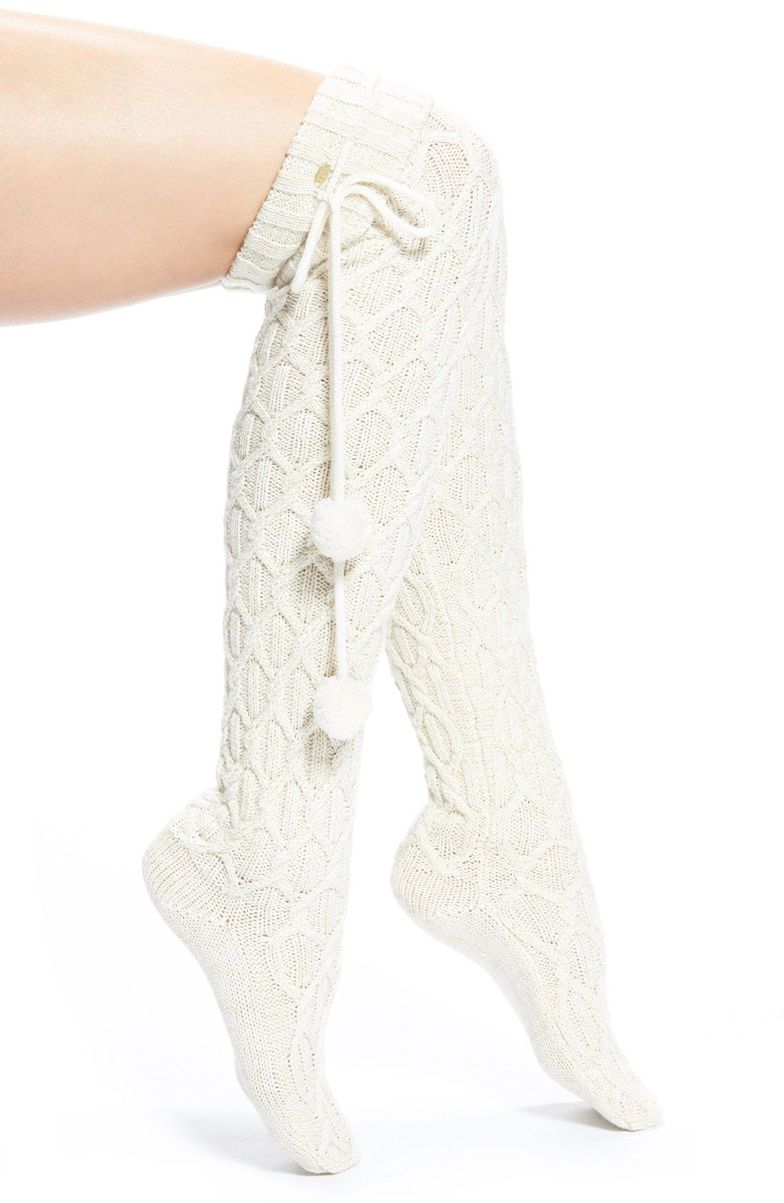 Free Shipping And Returns On Ugg 174 Pompom Cable Knit Over