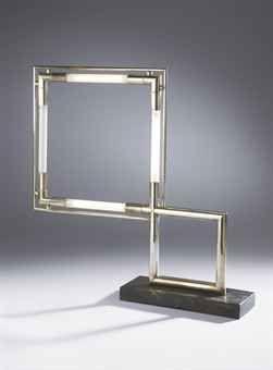 Lampe vintage de table par Jaques Adnet Design Market
