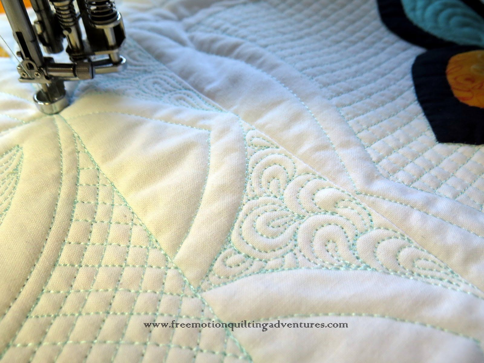 Quilting With Rulers: Fills and Designs | Quilting machine quilting ...