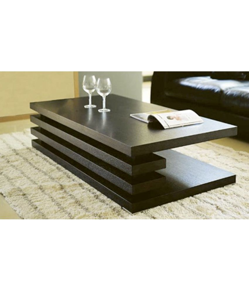 Furnish Living Brown Centre Table Coffee Table Design Modern
