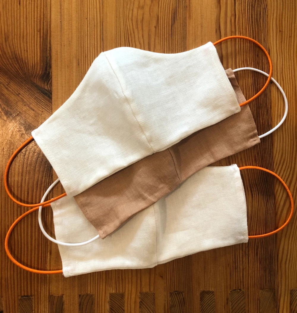Photo of Linen Face Mask – Buy One, Give One