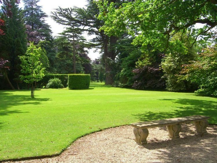 Rasenkante Garten Idee Englisch Ohne Beeteinfassung
