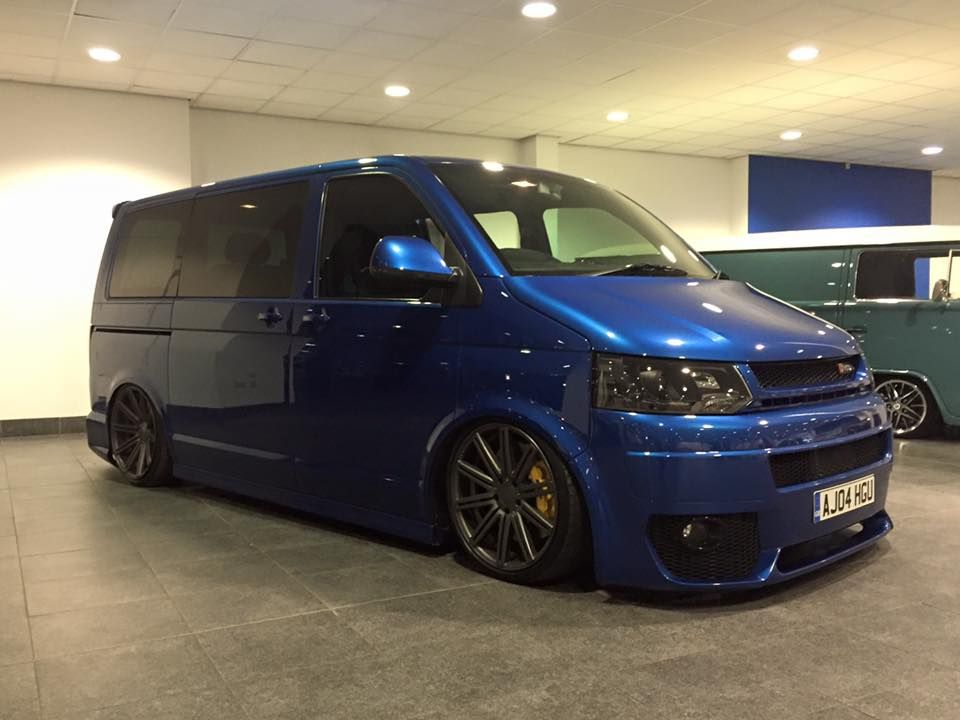 Vw Transporter T5 Van With An Audi Rs4 V8 And Quattro Awd