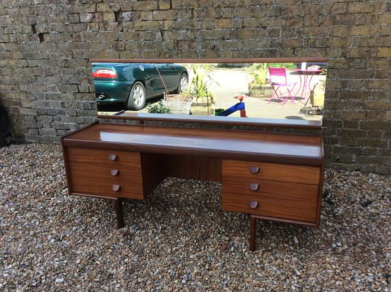1960s Teak White And Newton Dressing Table Desk Teak Bedroom