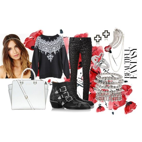 """""""GABRIEL ON THE GALLOWS"""" by kabukigrlz on Polyvore http://kabukigrlz.blogspot.com/ Styling by TheryChan"""