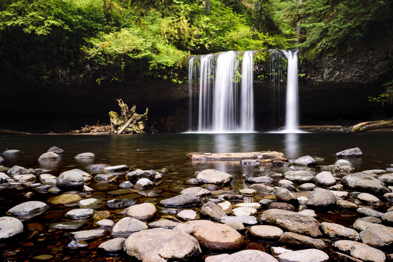 Butte Creek Falls Oregon. [OC] [6000x4000]