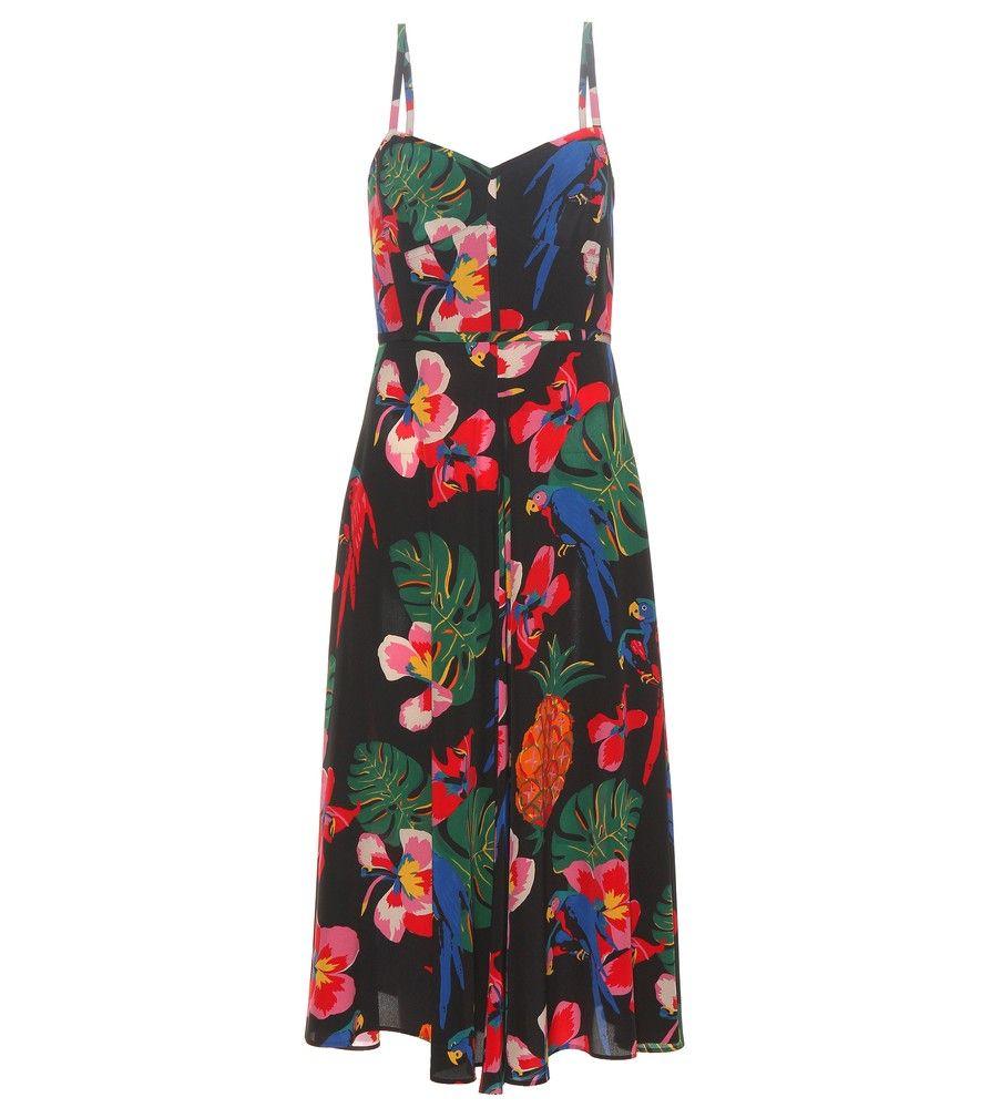 Valentino - Kleid aus Seide - Dieses Seidenkleid von Valentino ...