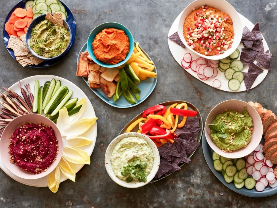 Healthy dips and spreads food network center stage dips and foods healthy dips and spreads food network forumfinder Image collections