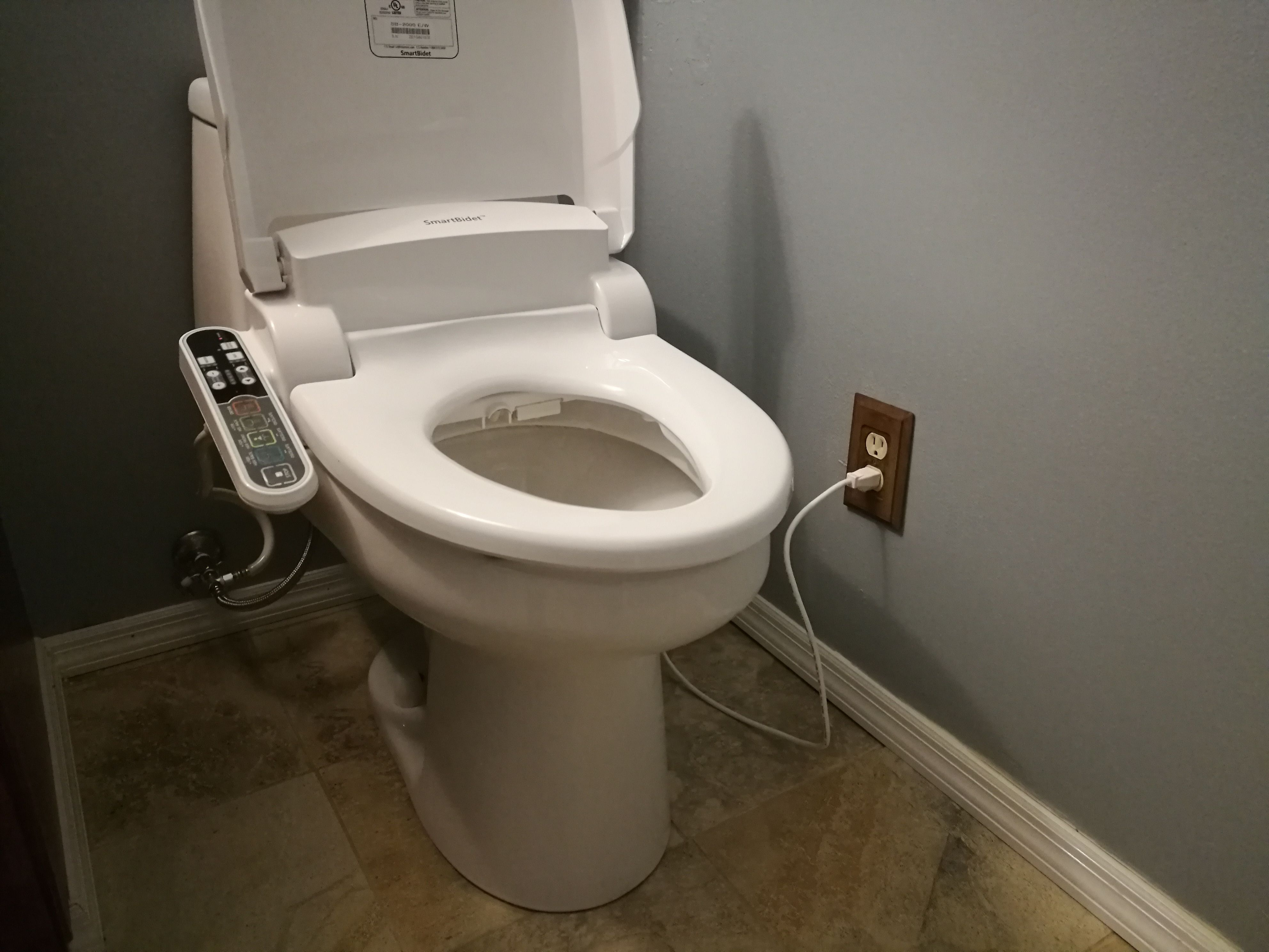 Diy Install Electrical Toilet Seat Add Some Comfort That You Can Feel Project Shared On The Handymobi App With Images Bidet Toilet Toilet Seat