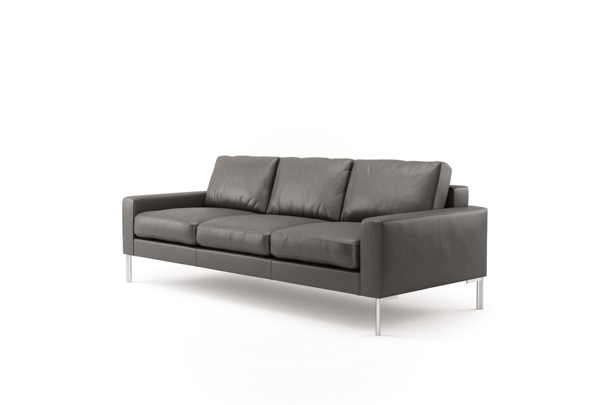 Designer Ledersofas pinedo ledersofas in leder savanne roccia ab 2 090 sofa