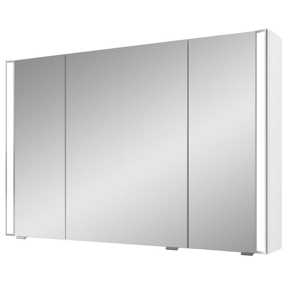 Pelipal S25 Spiegelschrank mit seitl. LED Lichtprofil 120