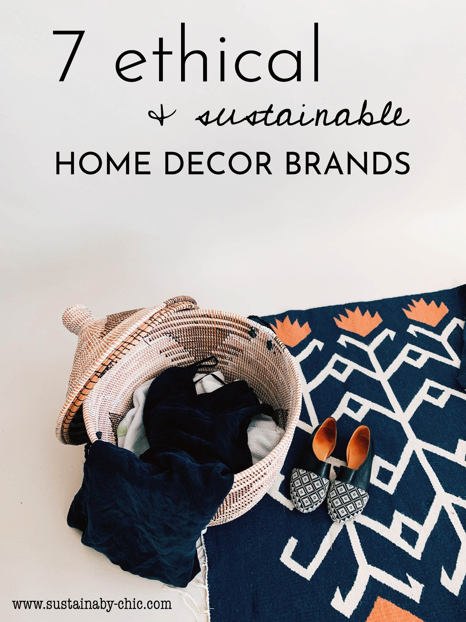 7 Ethical and Sustainable Home Decor Brands | Sustainable ...