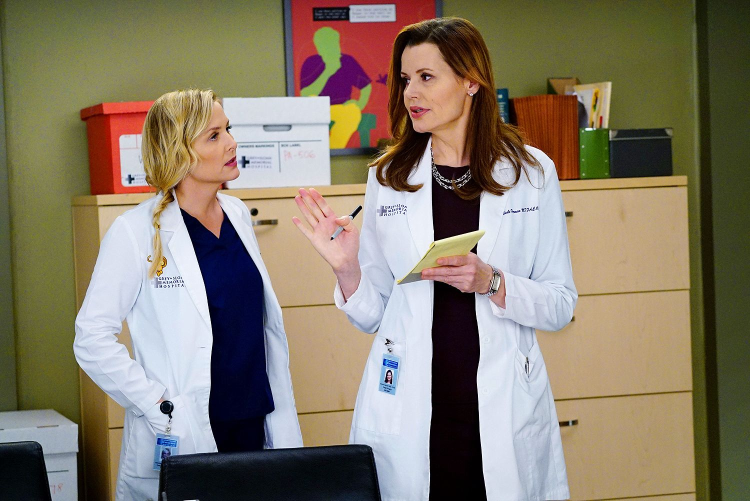 This week\'s episode of Grey\'s Anatomy, entitled \'Staring at the End ...