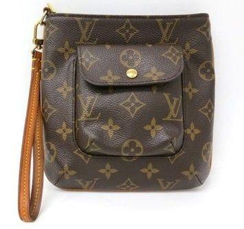 4e367d6a4a26 Louis Vuitton Monogram Partition Wristlet  460