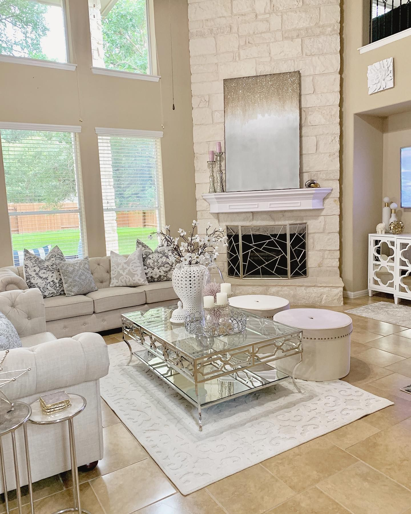 Elegant Living Room Decorating Ideas: Hello Insta Friends! Got Inspired Today And Moved Around