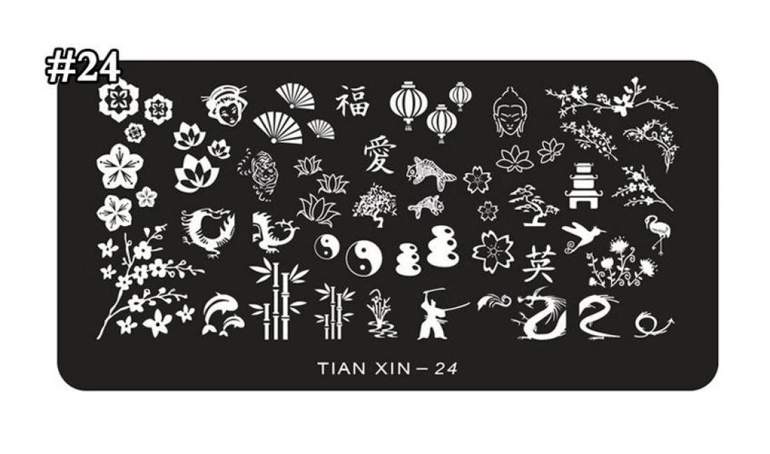 1-Pcs Pride Popular Hot Nails Art Stampers Stencil Decor Steel Plate Scraper Kits Model Style Tian-Xin-24 >>> For more information, visit image link.