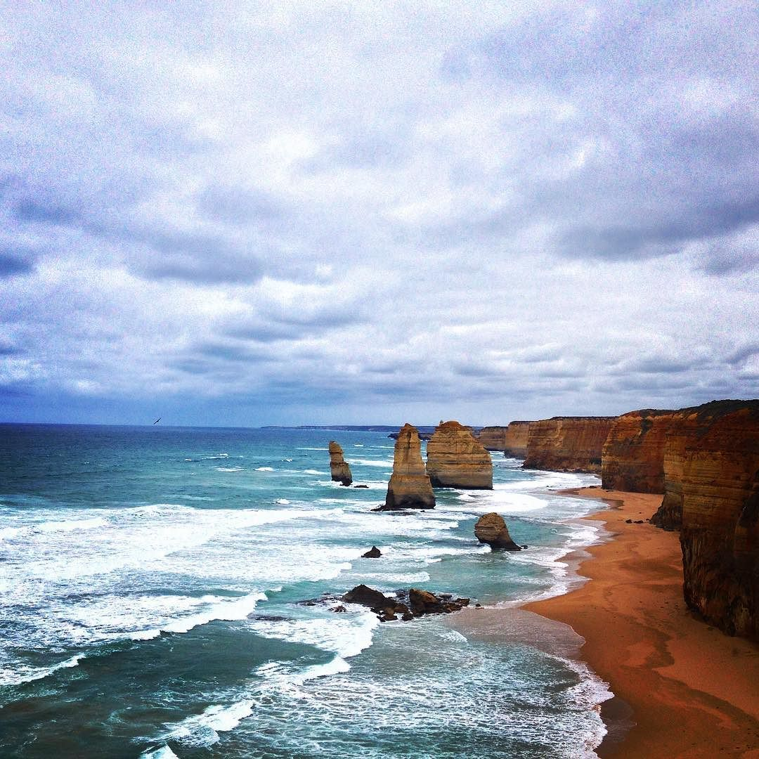 The #12Apostles - another great view along the #greatoceanroad  by surfingthecity http://ift.tt/1ijk11S