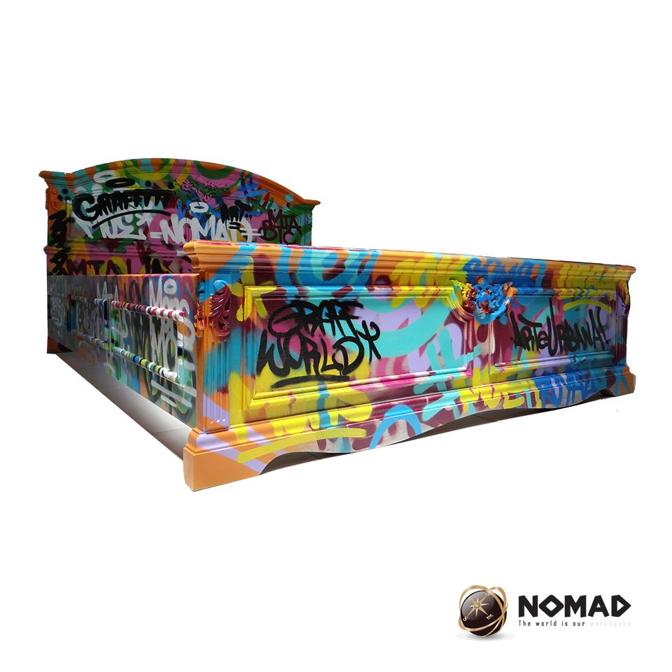 Arteurbano Muebles Camas Graffiti And Piezas Nicas Great  # What Does Muebles Mean