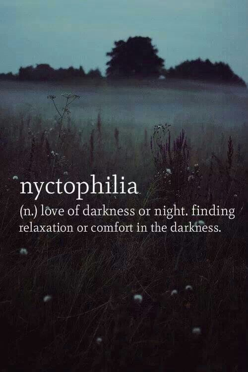 This Is Me I Love The Being In The Dark And Gazing At The Night Sky