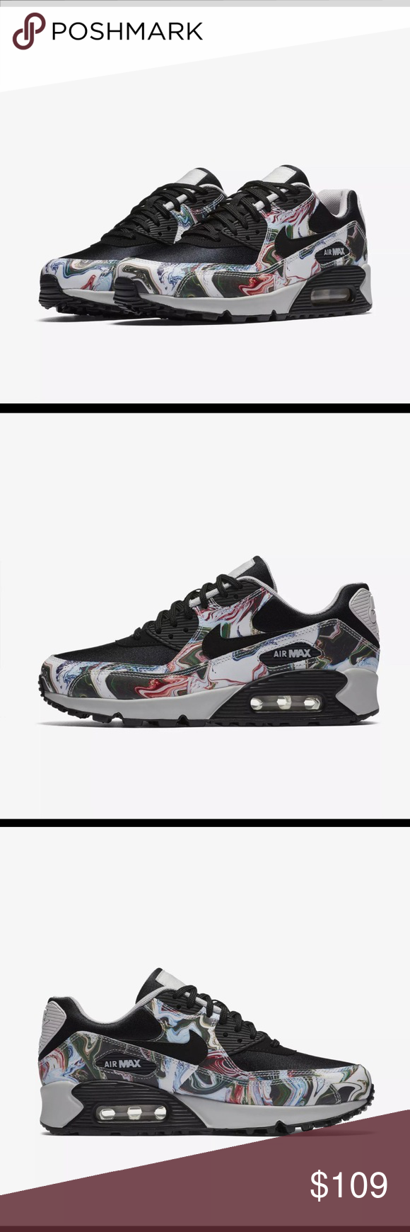 Nike Air Max 90 Marble Shoes -Style  AO1521 001 - New without Box. Women s Nike  Air Max 90 Marble Shoes -Style  AO1521 001 -Size 5 Nike Shoes Sneakers d061a8464