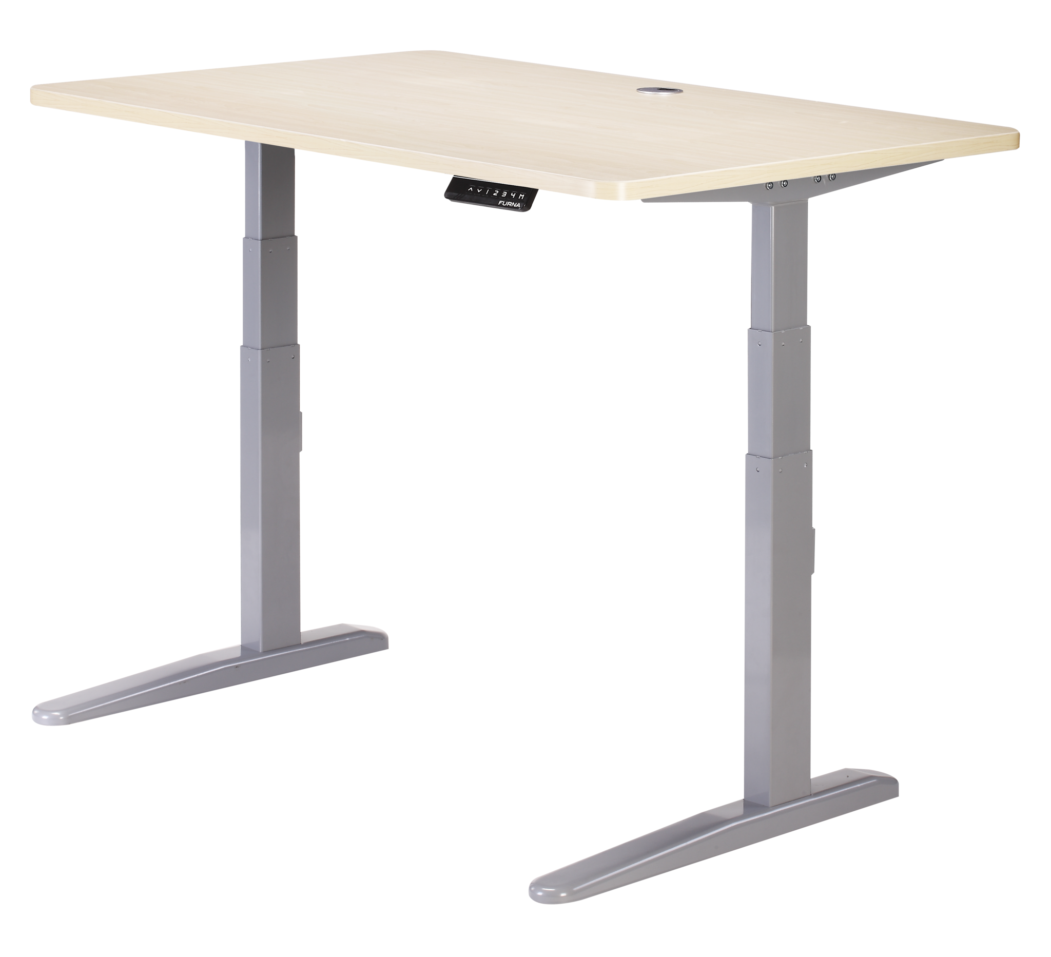 Standing Desks Officeworks Furna E2 Electric Standing Desk Sit Stand Desk