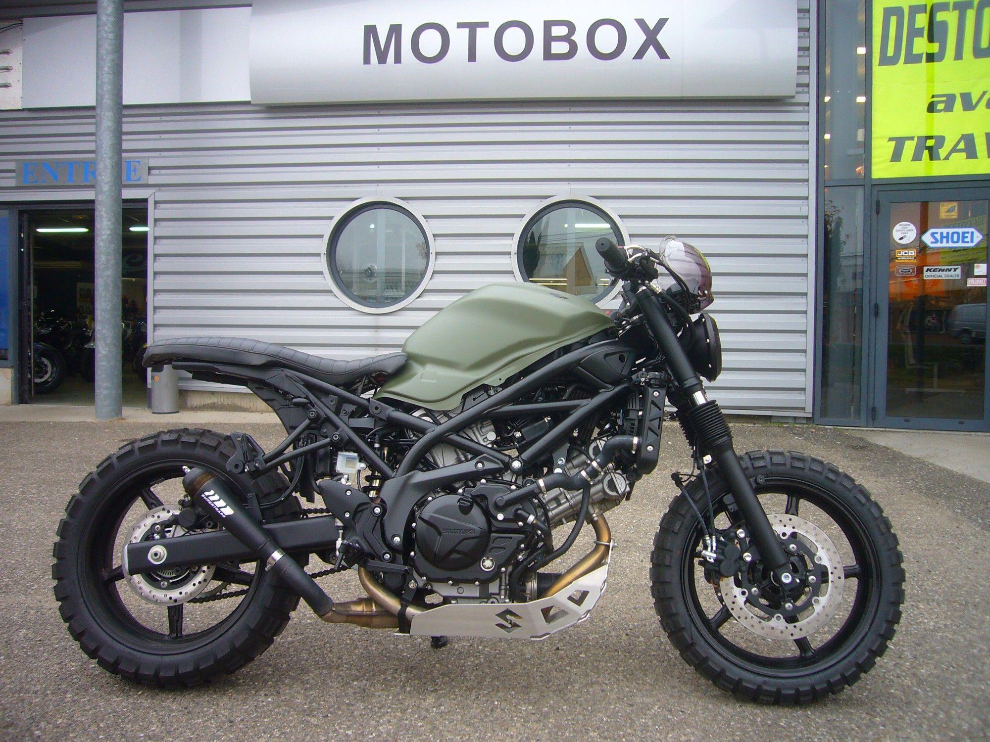 photo annonce suzuki sv 650 kaki mat scrambler motobox 1 052106 jpg 2000 1500 moto pinterest. Black Bedroom Furniture Sets. Home Design Ideas