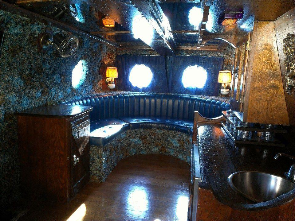 Old School Custom Van Interior