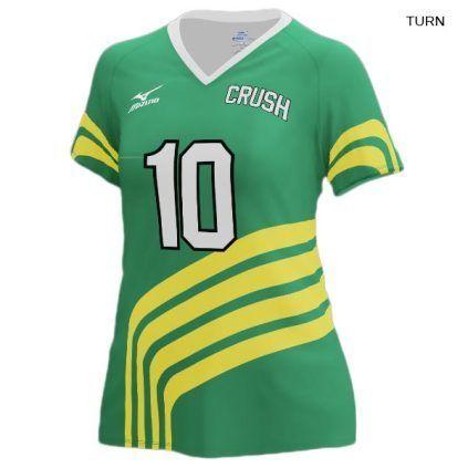 c10e32ee798e Mizuno Women's 440348 (Custom / Sublimated) Short Sleeve Jersey ...
