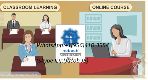 NEBOSH The National Examination Board in Occupational