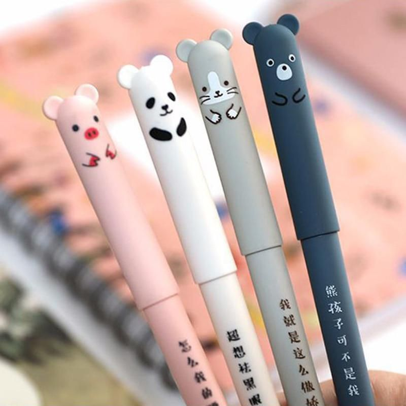 Universal 0.5mm Erasable Pen Rollerball Gel Ink Pen Student Writting Stationery
