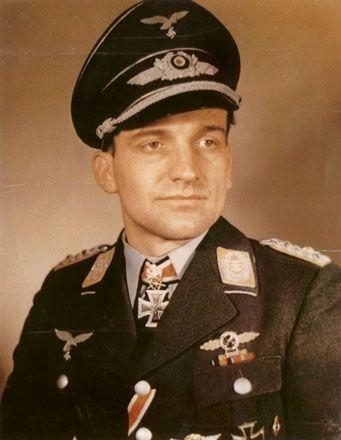 Hans-Ulrich Rudel (2 Jul 1916 – 18 Dec 1982) was a Stuka dive-bomber pilot…