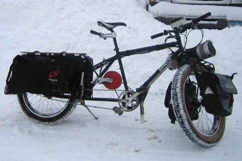 Trek\'s transport bike with electric engine-hm, add a solar panel and ...