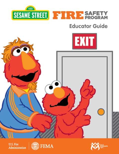 Sesame Street Fire Safety Program  Safety Around The House And